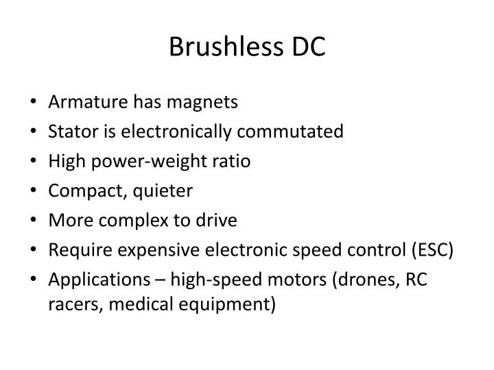 Brushless DC