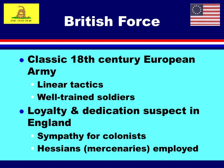 British Force