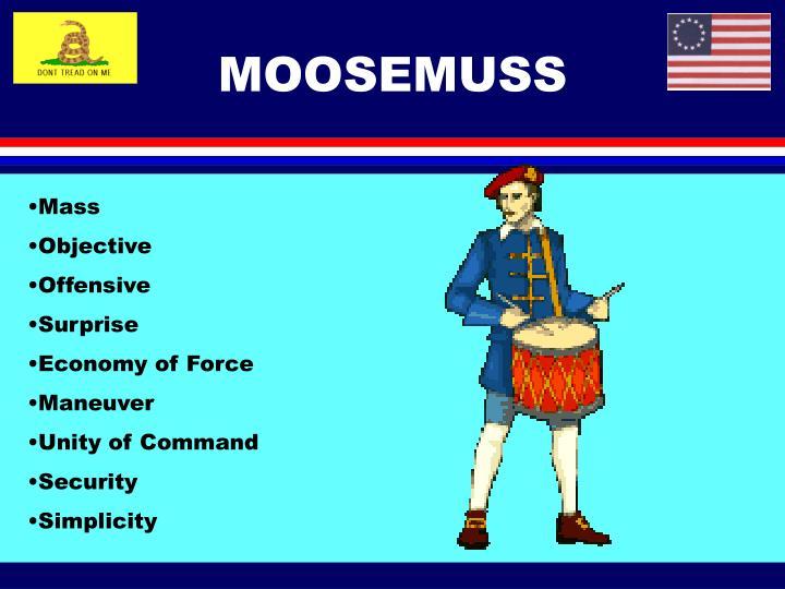 MOOSEMUSS