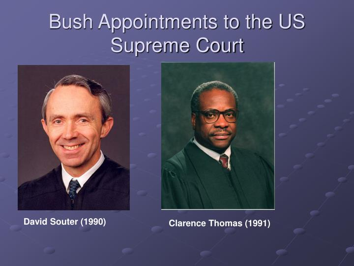 Bush Appointments to the US Supreme Court