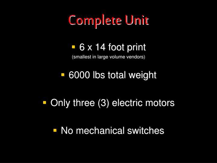 Complete Unit