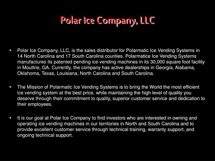 Polar Ice Company, LLC