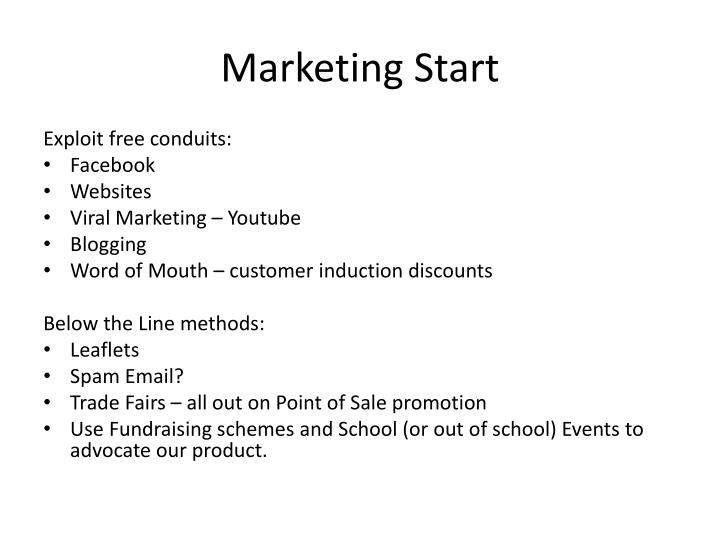 Marketing Start