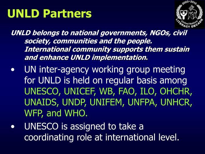 UNLD Partners