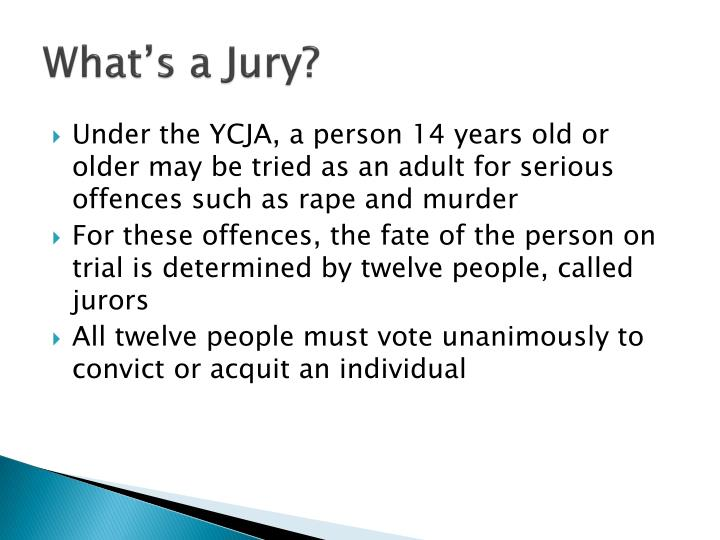 What's a Jury?
