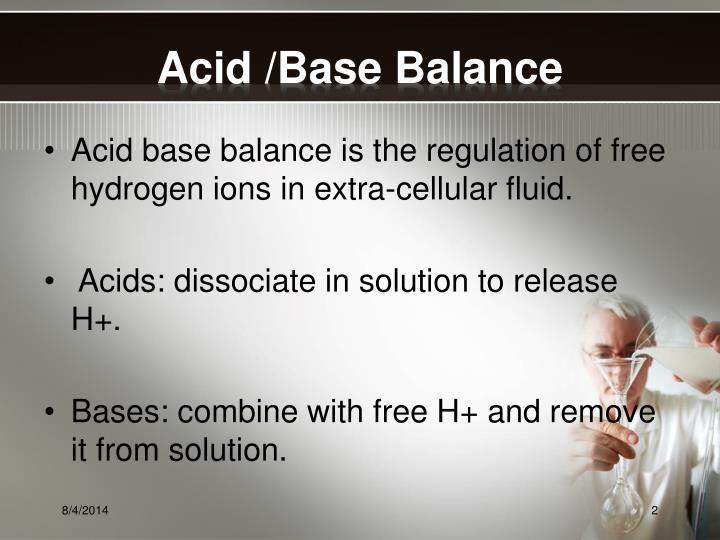 Acid /Base Balance