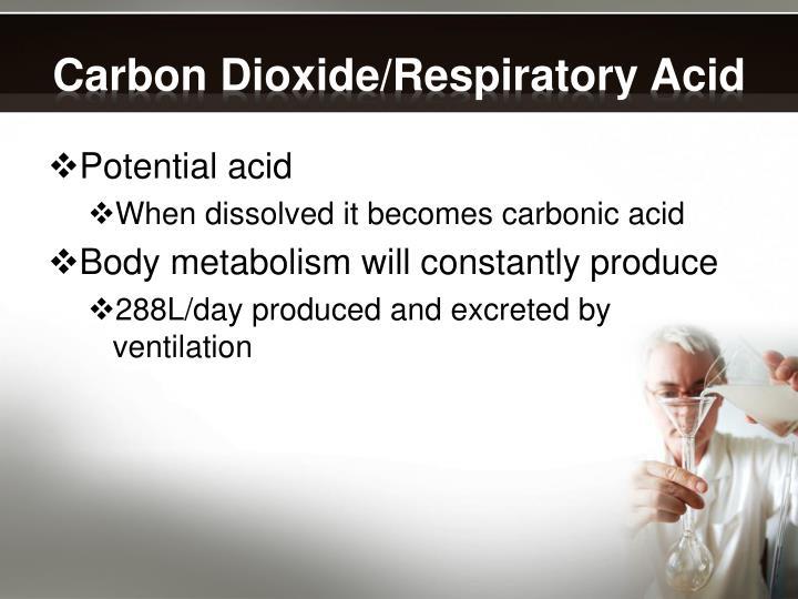 Carbon Dioxide/Respiratory Acid