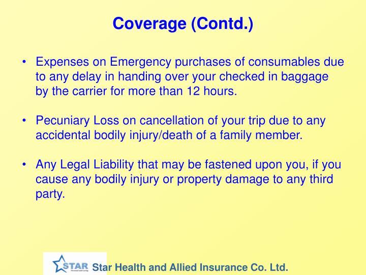 Coverage (Contd.)