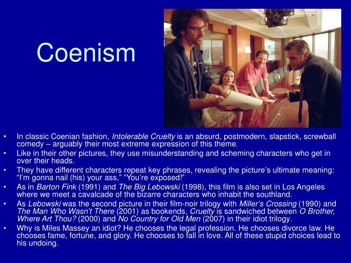 Coenism