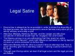 legal satire