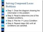 solving compound locus problems3