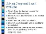 solving compound locus problems4