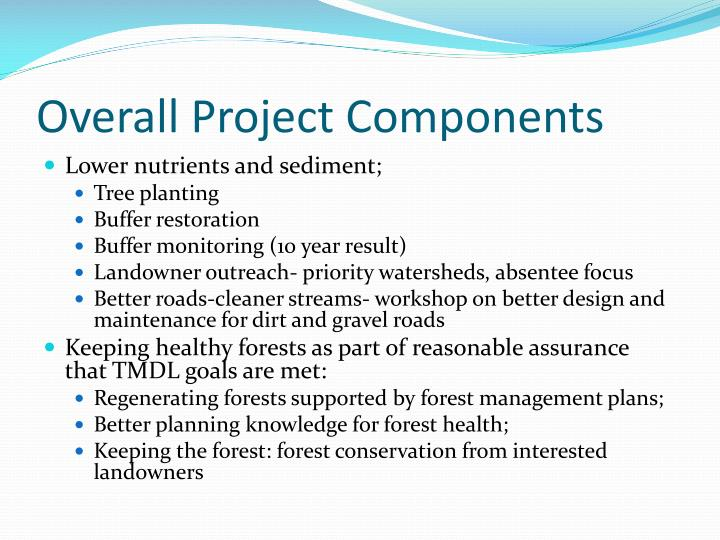 Overall Project Components