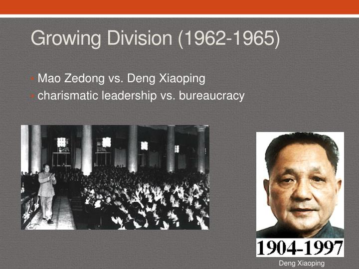 Growing Division (1962-1965)