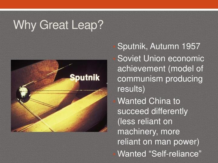 Why Great Leap?