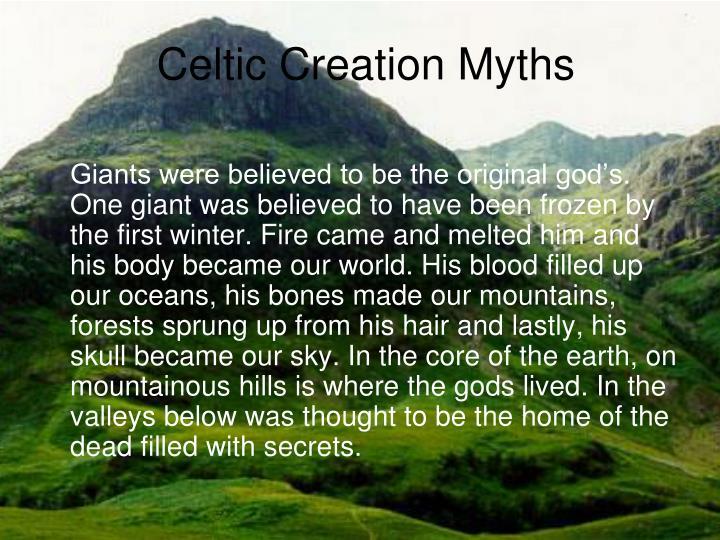 Celtic Creation Myths