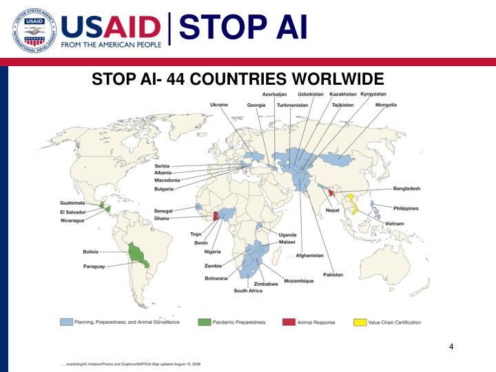 STOP AI- 44 COUNTRIES WORLWIDE