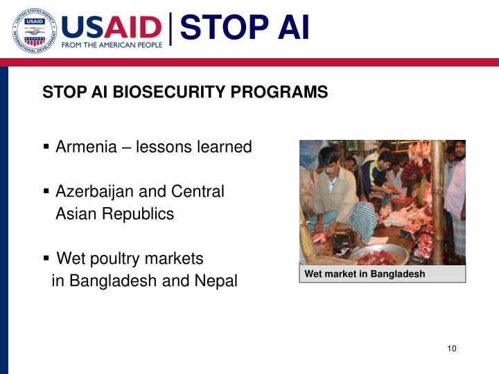 STOP AI BIOSECURITY PROGRAMS