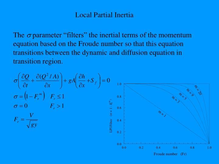 Local Partial Inertia