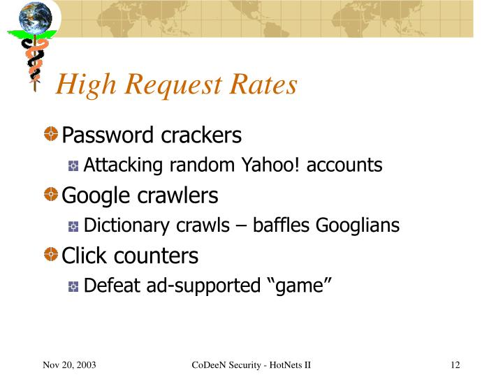 High Request Rates