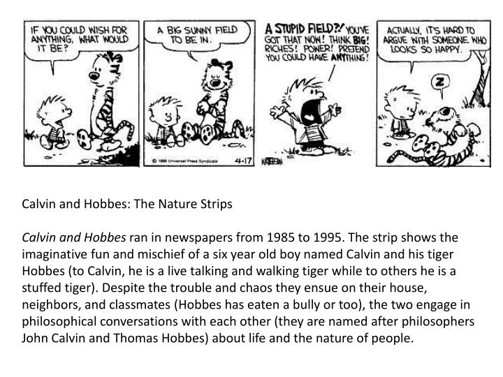 Calvin and Hobbes: The Nature Strips
