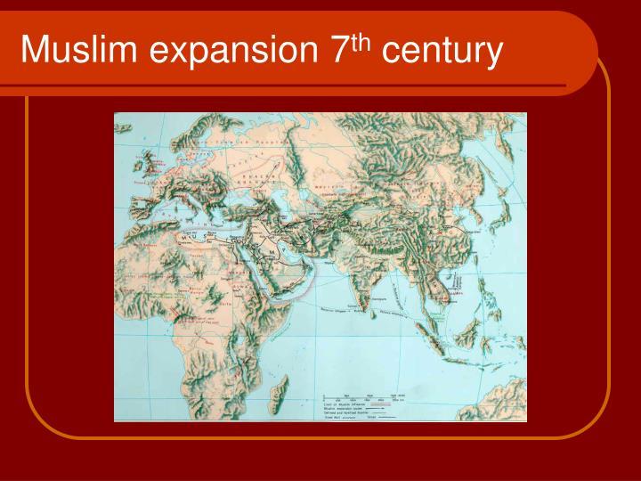Muslim expansion 7