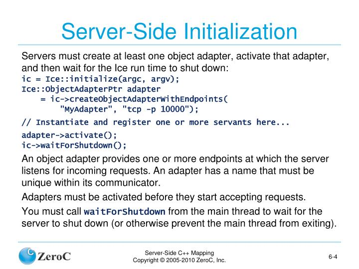 Server-Side Initialization