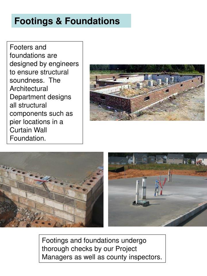 Footings & Foundations