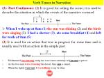 verb tenses in narration1