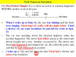 verb tenses in narration2