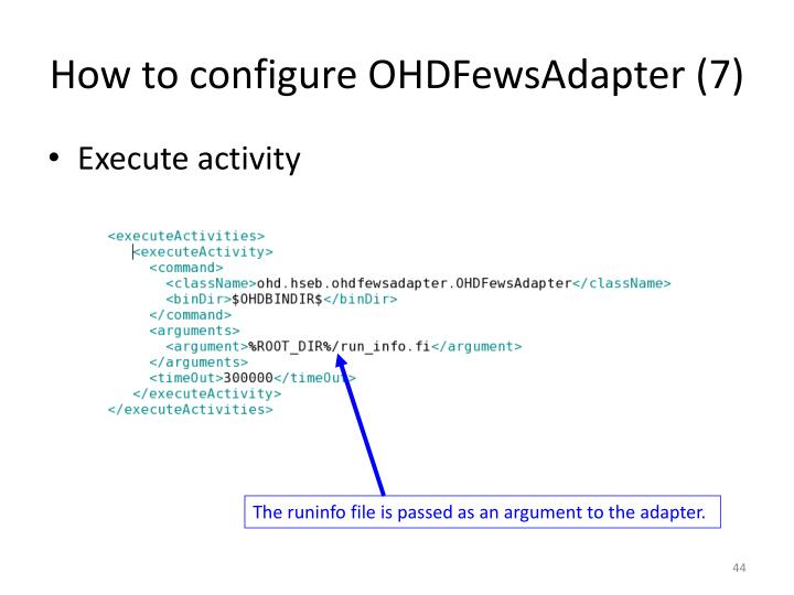 How to configure