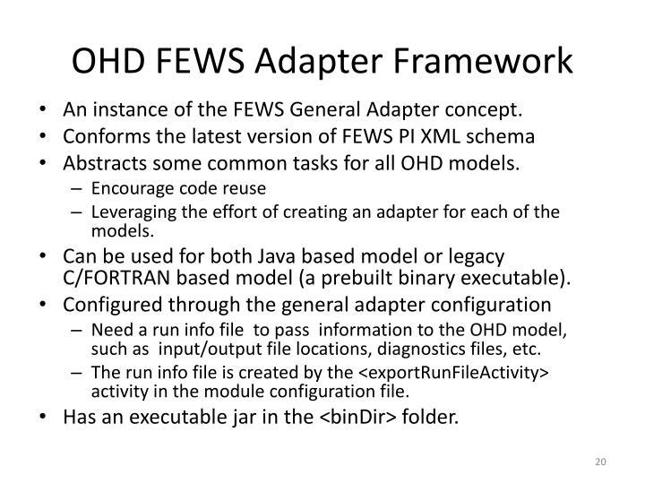 OHD FEWS Adapter Framework
