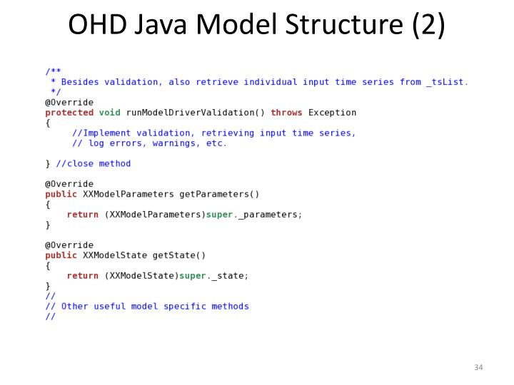 OHD Java Model Structure (2)