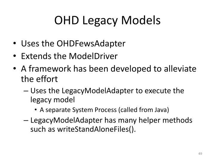 OHD Legacy Models