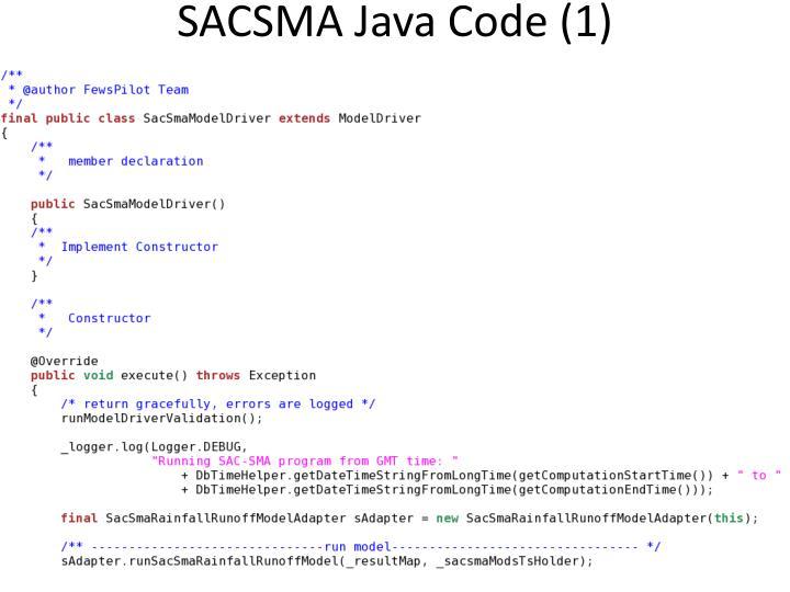 SACSMA Java Code (1)