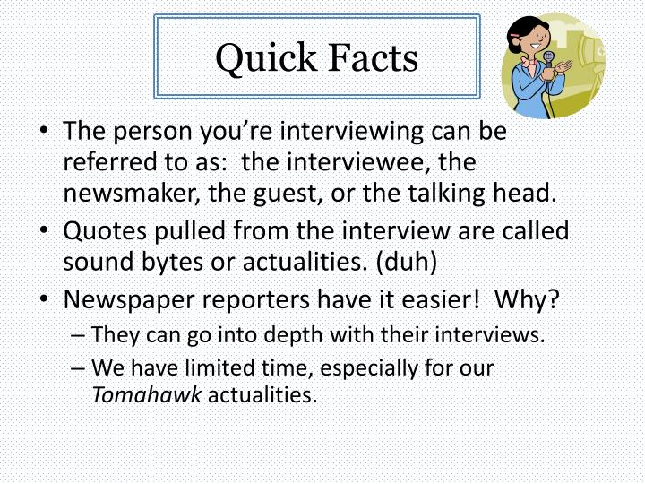 Quick Facts