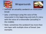 wraparounds