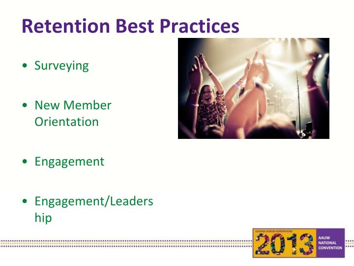Retention Best Practices