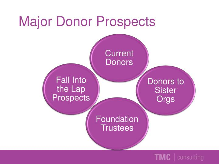 Major Donor Prospects