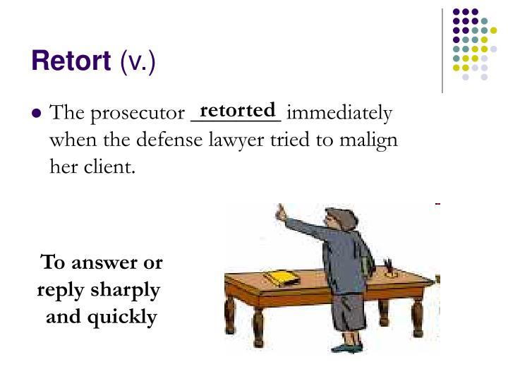 Retort