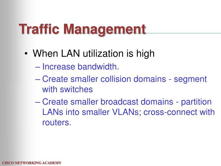 Traffic Management