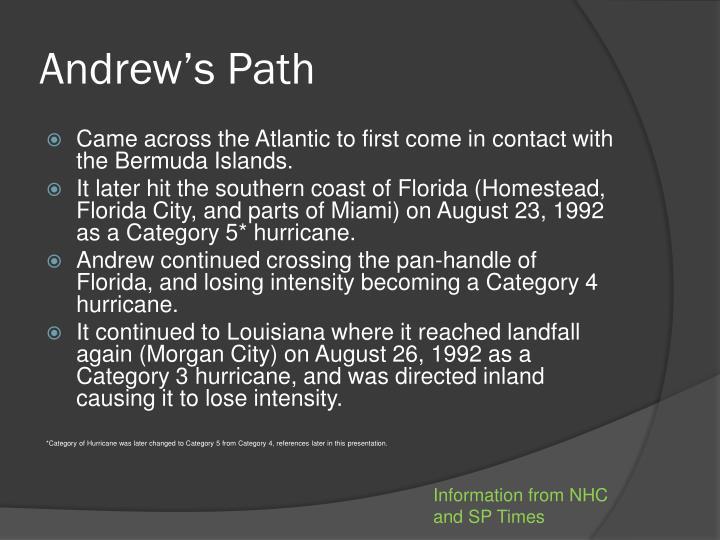 Andrew's Path