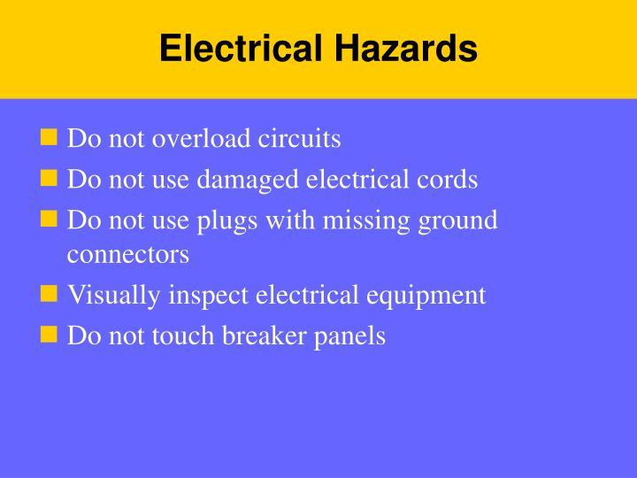 Electrical Hazards