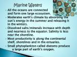 marine waters