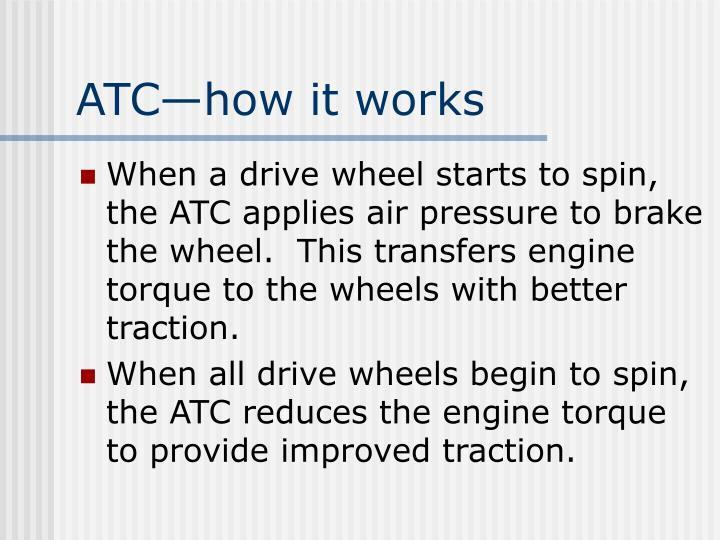 ATC—how it works
