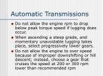automatic transmissions3