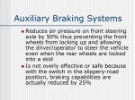 auxiliary braking systems2