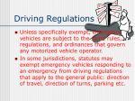 driving regulations1