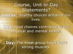 course unit or day statements2