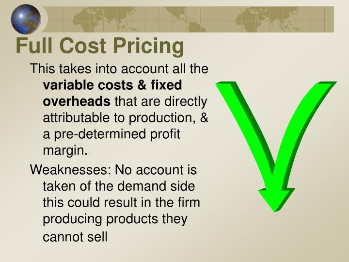 Full Cost Pricing
